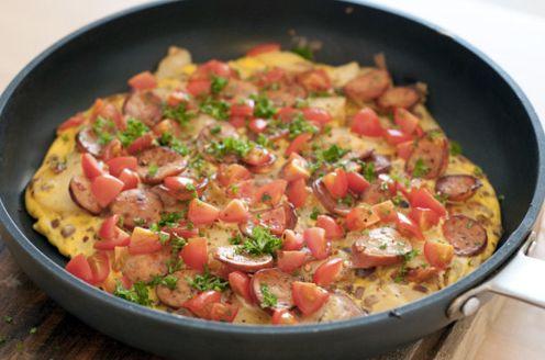Spaanse Omelet als Paleo Ontbijt - Paleo Recepten