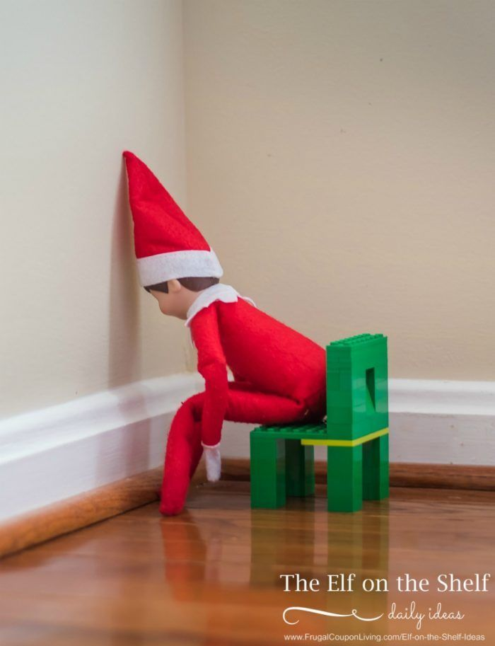 Elf on the Shelf Ideas   Elf  is in Timeout on Frugal Coupon Living. Daily elf ideas every day!