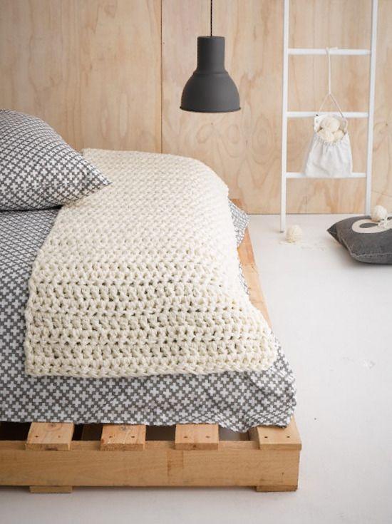 Bed runner Better Homes and Gardens Yarn Kit offer