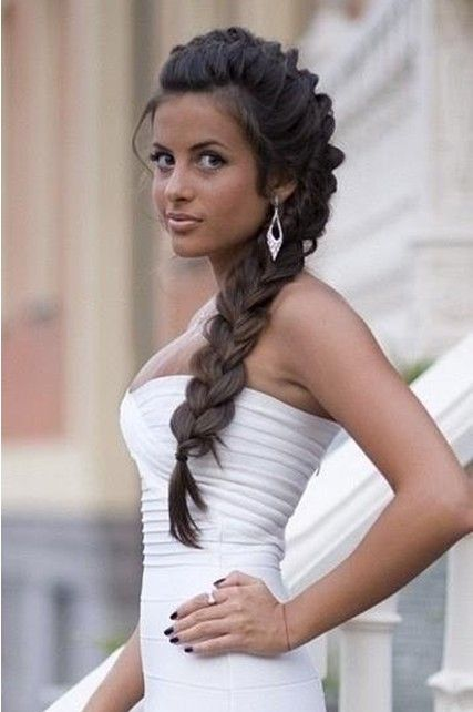 Side Braid Hairstyles For Weddings | Side Braided Hairstyles for Wedding, Prom | Popular Haircuts