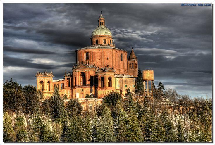 bologna - San Luca | Basilica di San Luca,sul Colle della Gu… | Flickr
