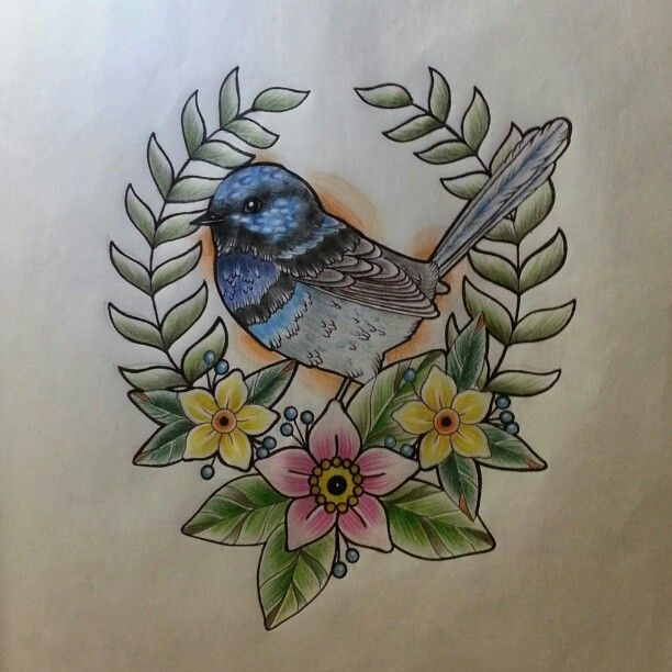blue bird tattoo cutee www pinterest different types kid and different. Black Bedroom Furniture Sets. Home Design Ideas
