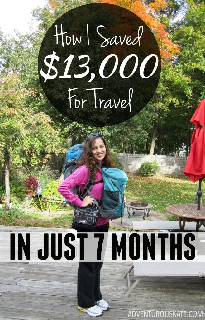 How was I able to save enough money to travel long-term? It had very little to do with being a travel blogger. When I started Adventurous Kate, my goal