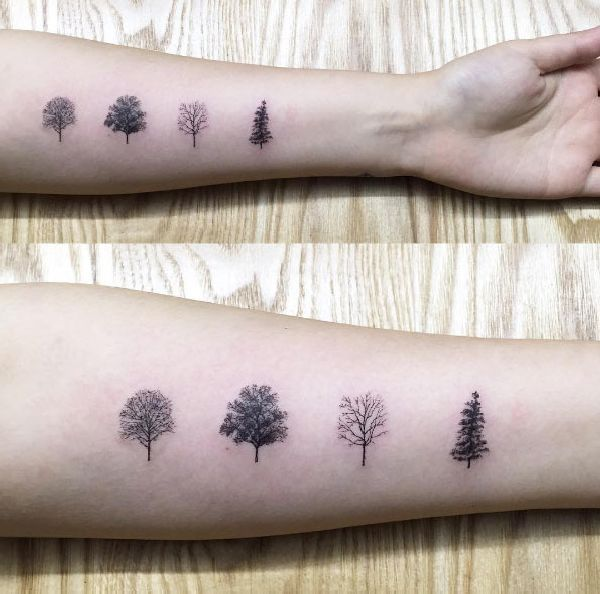 best 25 tiny tree tattoo ideas on pinterest tree tattoos pine tree tattoo and wrist tree tattoo. Black Bedroom Furniture Sets. Home Design Ideas