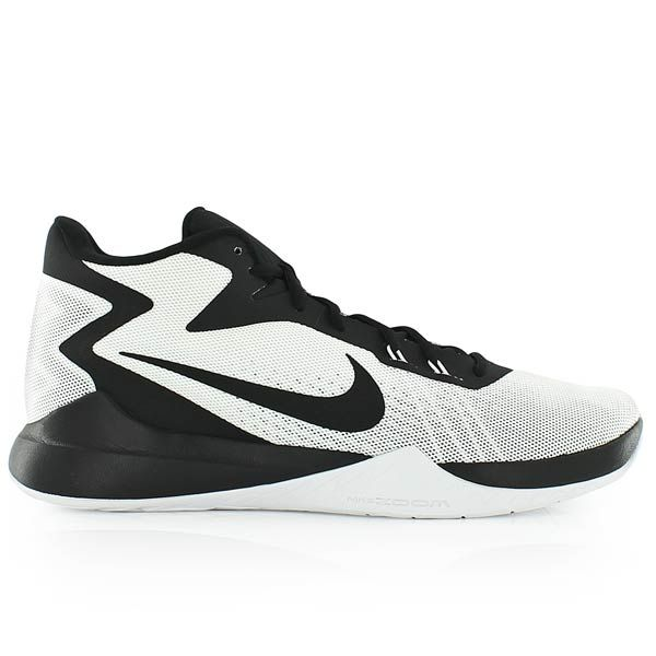 nike ZOOM EVIDENCE WHITE/BLACK-BLACK-WOLF GREY