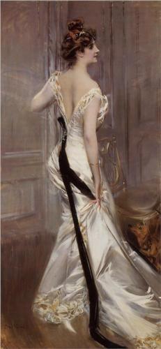 The Black Sash, by Giovanni Boldini, 1905