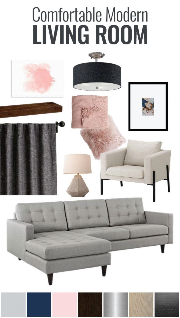 608 best a crafted passion images on pinterest babies for Modern living room mood board