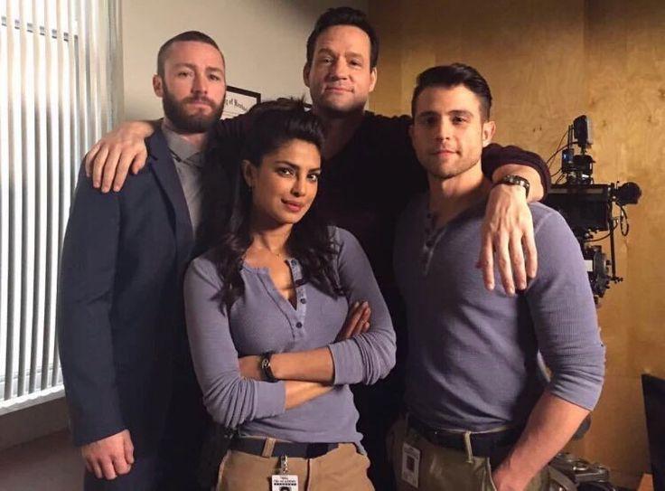 Alex and her men. Ryan, Liam & Drew. Quantico