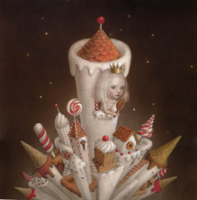Sweet is the Night -Nicoletta Ceccoli