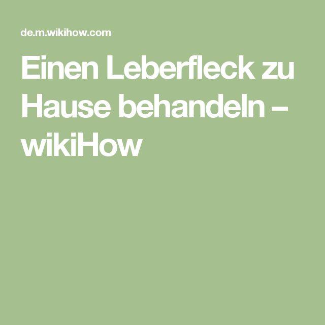 Einen Leberfleck zu Hause behandeln – wikiHow