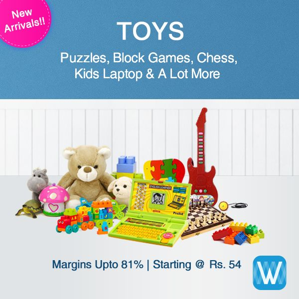 #Retailers, choose from a range of toys on #Wydr Wholesale E-Commerce and buy in bulk. Multiple options. Assured Quality. Easy Return. order now!