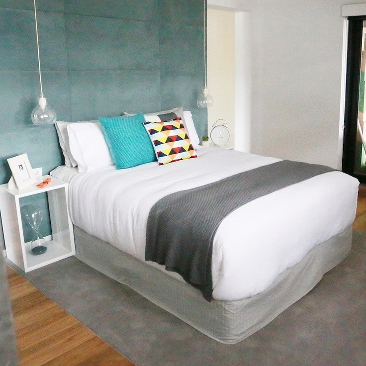 Bec & George's bedroom.