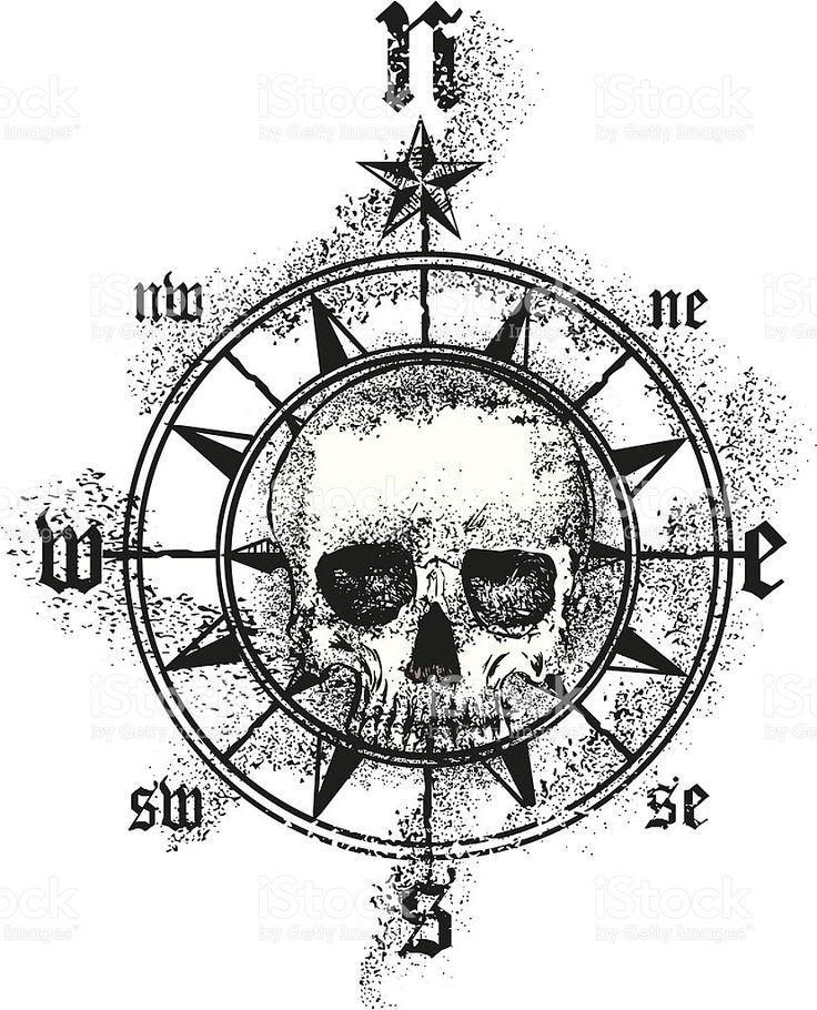 how to draw a compass design