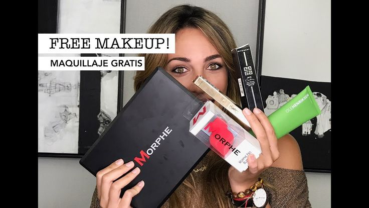 HOW TO GET FREE MAKEUP/COMO CONSEGUIR MAQUILLAJE GRATIS! - YouTube