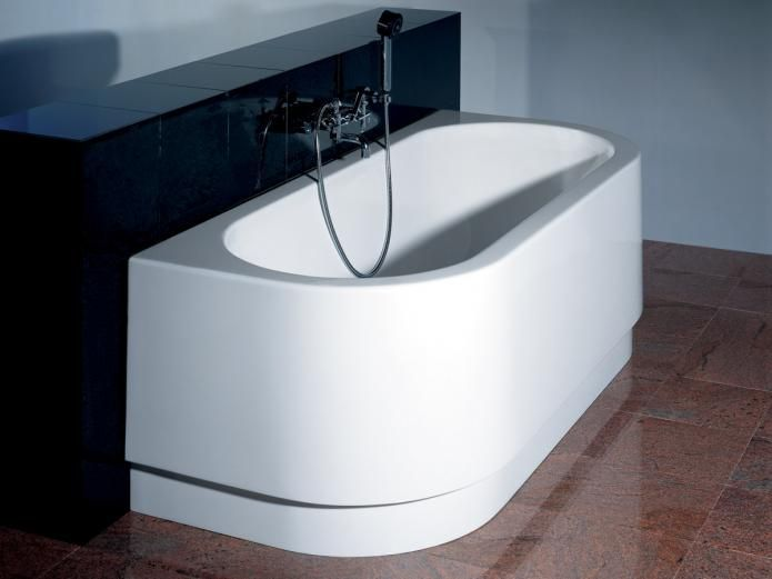 Hoesch  1800 Happy D Freestanding Bath