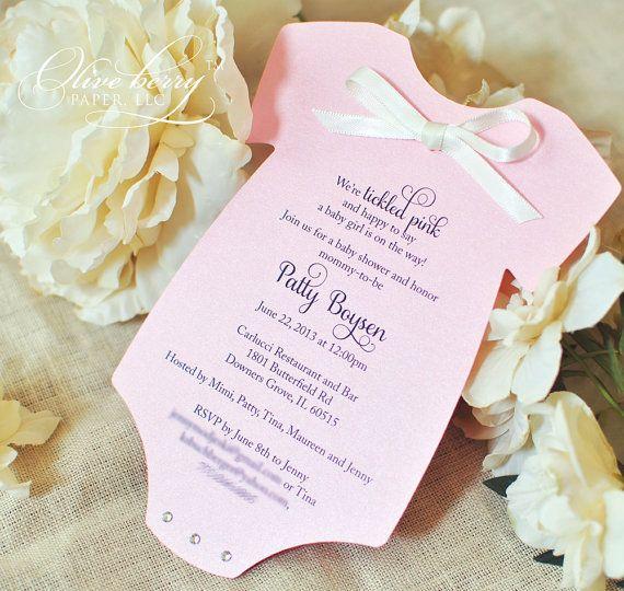 Adorable invitación para baby shower