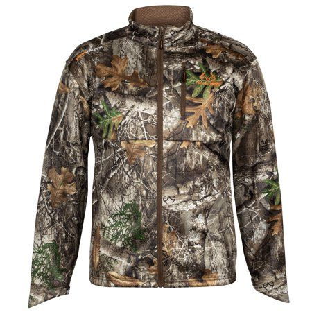 5a2f8a2e70bdf Realtree - Realtree Men's Camo Techshell Hunting Jacket - Walmart.com