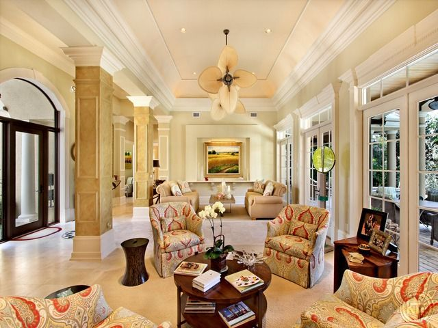 Beautiful Sophisticated But Still Comfortable Coastal Living Room. Coquina  Sands In Naples, FL