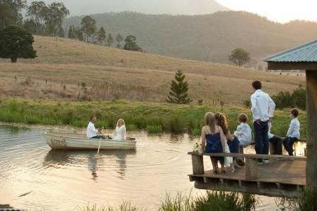 Lillydale Farm  Waterfront wedding. Country wedding venue near Beaudesert, Boonah, Brisbane & Gold Coast.