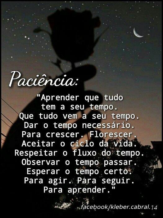 Boanoite Goodnight Patience Paciencia Everythinghasitstime