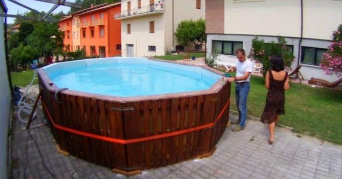 Une astuce géniale pour construire une piscine vous même pour moins - comment construire sa piscine en parpaing