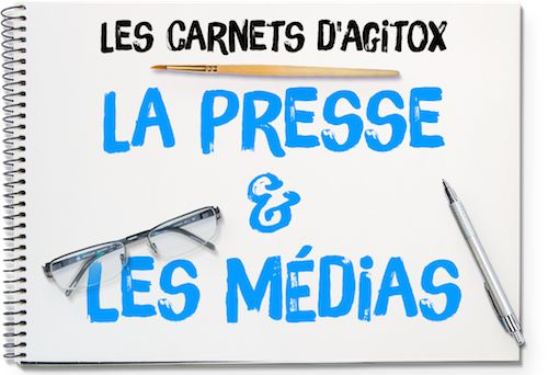 Presse et Médias en classe de FLE - Les Carnets d'Agitox