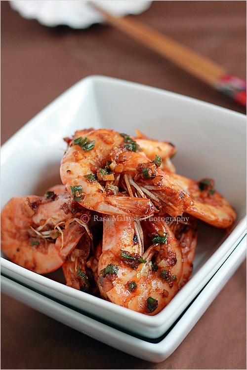 Garlic Shrimp recipe - If you love shrimp, you will definitely love garlic shrimp. This garlic shrimp recipe is quite easy to prepare and I hope you will get to try it soon. #shrimp #30-minutemeals