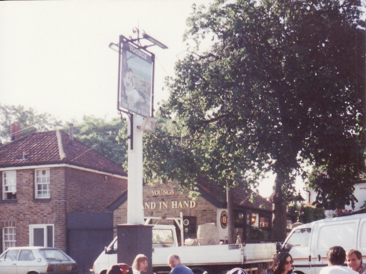 Best Pub ever! The Hand in Hand on Wimbledon Common.