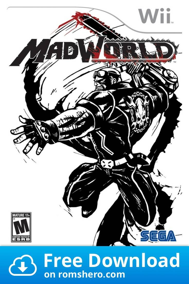 Download Madworld Nintendo Wii Wii Isos Rom Wii Nintendo Wii Sega Video Games