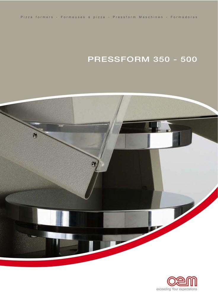 OEM - Pressform 350-500 - Pizzaformers