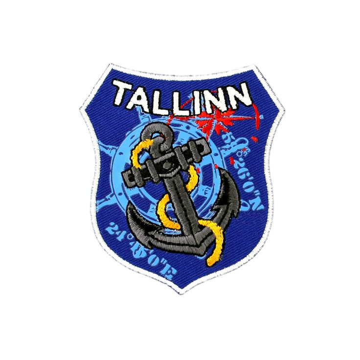 Embroidered Patch Tallinn Embroidered patches