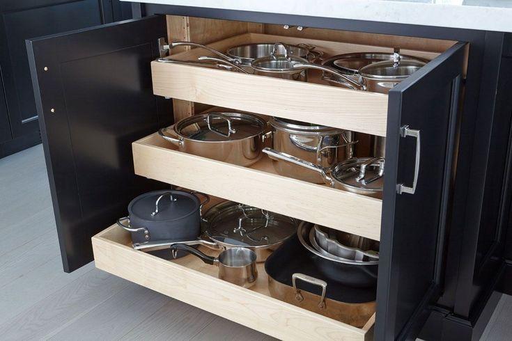 28 Best Kitchen Island Organization Ideas (22) (With ...