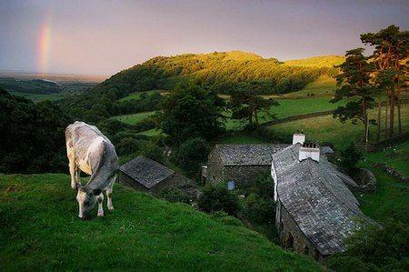 Sunrise on the Lake District