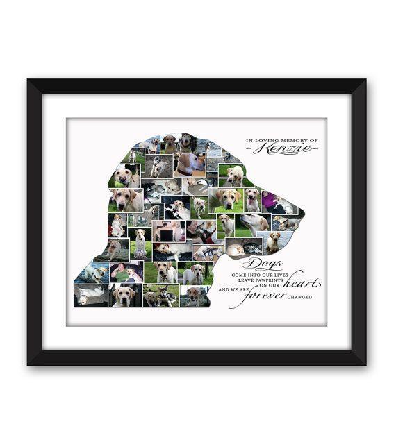 Dog Memorial Dog Loss Rainbow Bridge Pet by SaffronRoseDesigns