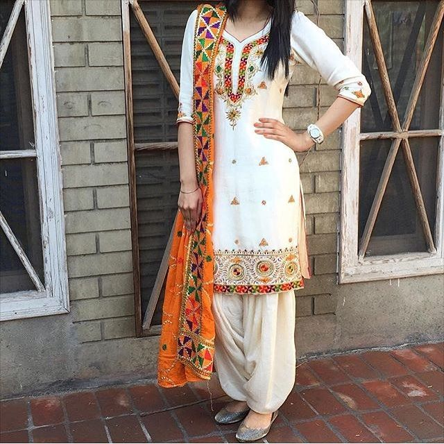 Punjabi suits pinterest: @nivetas