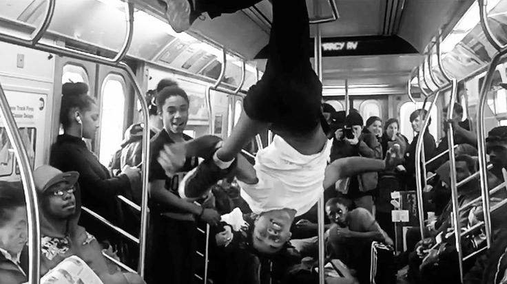 "Watch the Knocks, Cam'ron Soundtrack Subway Showtime in ""New York City"" #headphones #music #headphones"