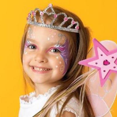 seven costume makeup ideas for kids halloween makeup ideas use green for maya halloween costume - Best Halloween Makeup To Use