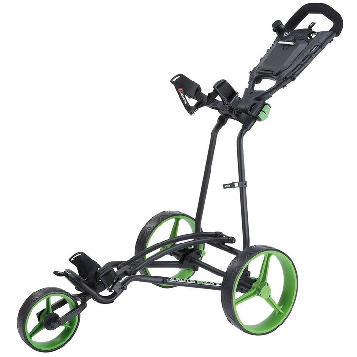 This great value and stylish looking auto fold golf trolley push cart by Big Max offers an extremely compact and sporty design!
