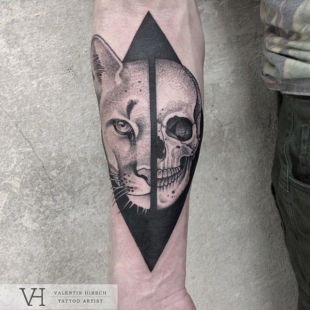 20 Seperating And Skull Face Tattoos Ideas And Designs