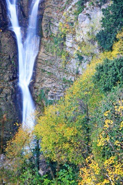 Cascate del Rio Verde, riserva naturale, a Borrello (CH)