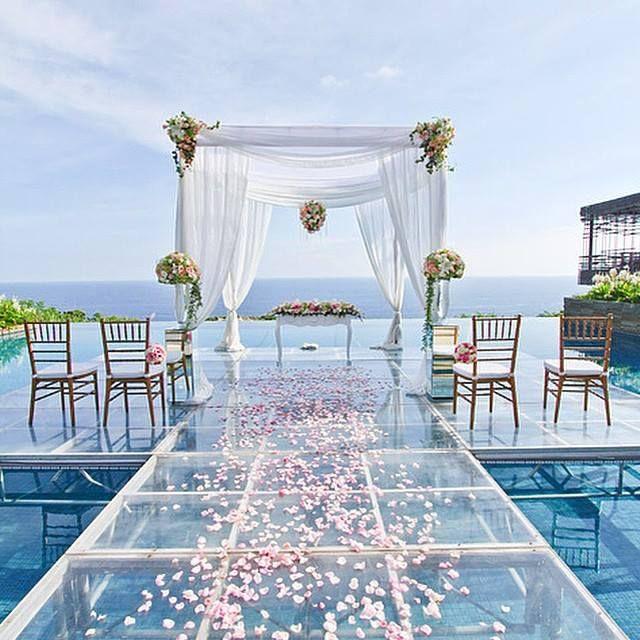Alila Villas Uluwatu Wedding Reception