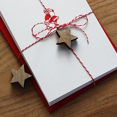 #christmascards #letterpress #santaclaus #slowprint