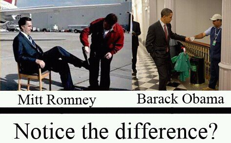 """""""Giving it to the cleaners...."""": Difference, Mitt Romney, Politics, Stuff, U.S. Presidents, Funny, Pictures, Photo, Obama"""