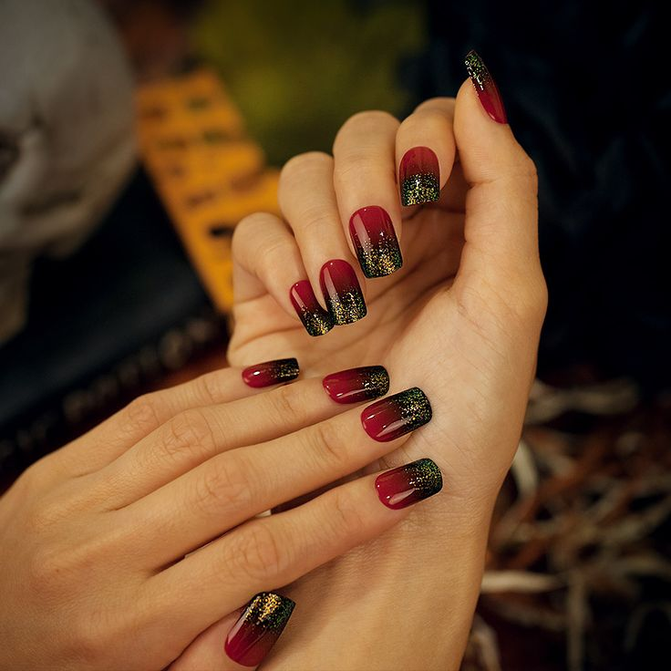 Say 'YES' to the Halloween #imPRESSmanicure! #BloodyRed ...