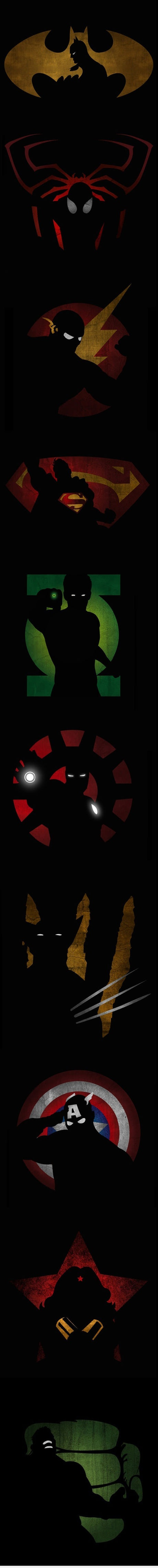 One hero, two shadows