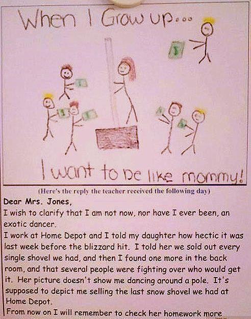 So funny! As a teacher I can so appreciate this!