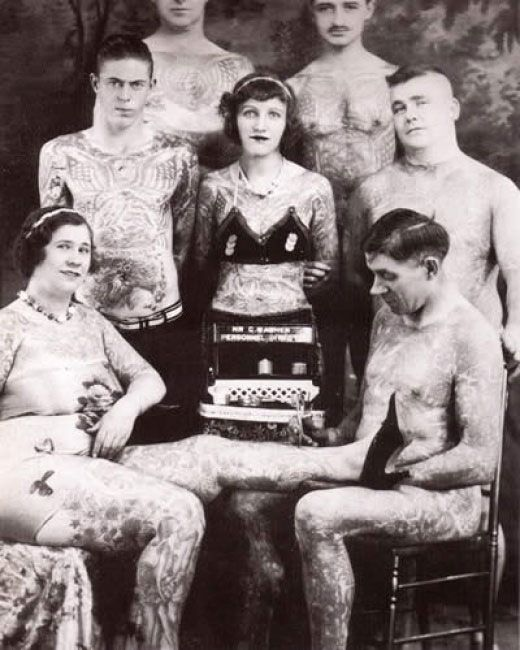 vintage-tattoos, super cool to look at!