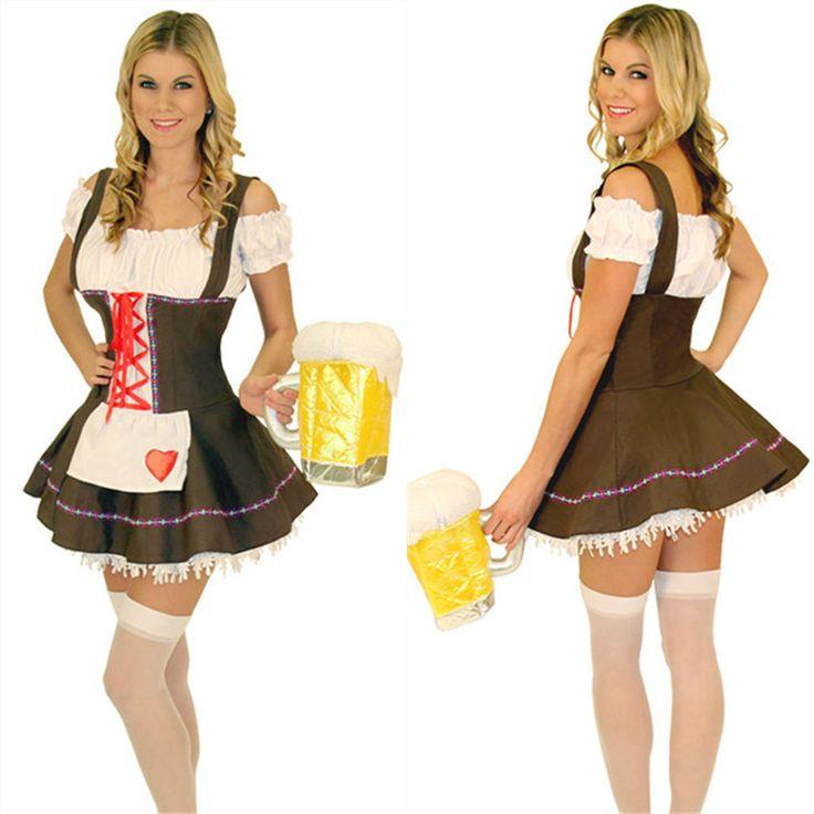 Октоберфест костюмы эротические сексуальные дамы фантазия пиво девушка необычные платья германия фестиваль пива наряд для женщин хеллоуин костюм