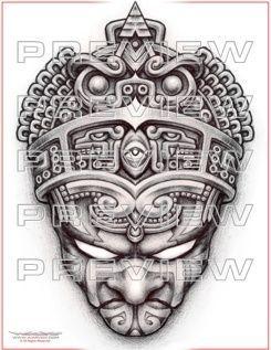Más de 1000 ideas sobre Aztec Warrior Tattoo en Pinterest | Guerrero ...