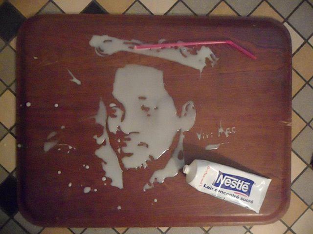 Portraits Using Food And Drinks by Vivi Mac (w/ Lauryn Hill, Ice Cube, Eminem + more